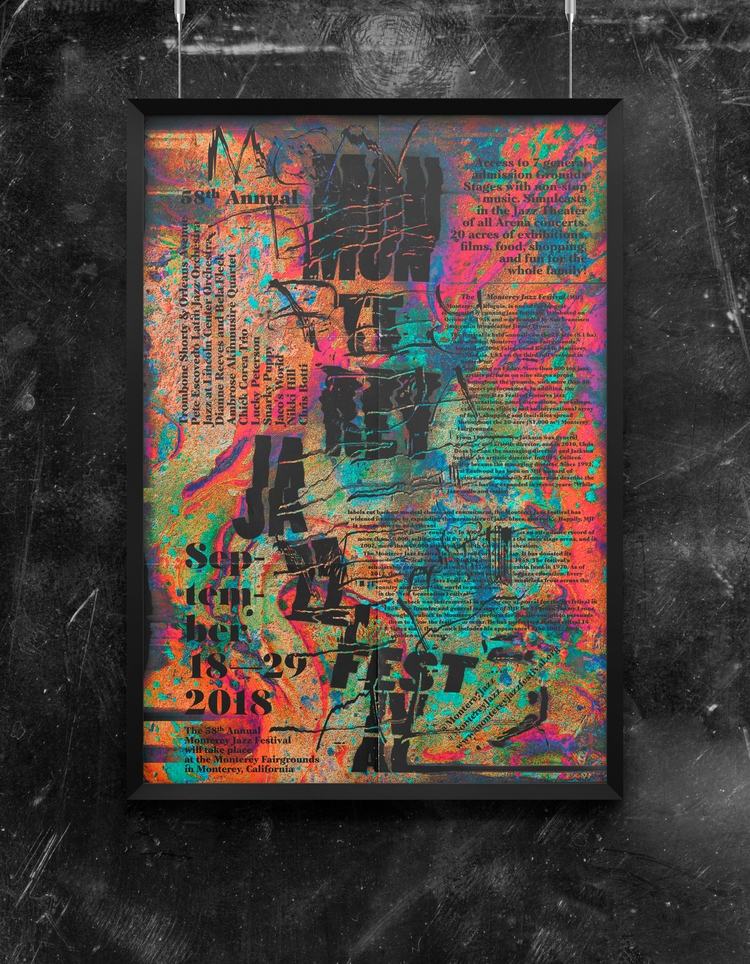 monterey jazz festival 1 - poster - beliy | ello