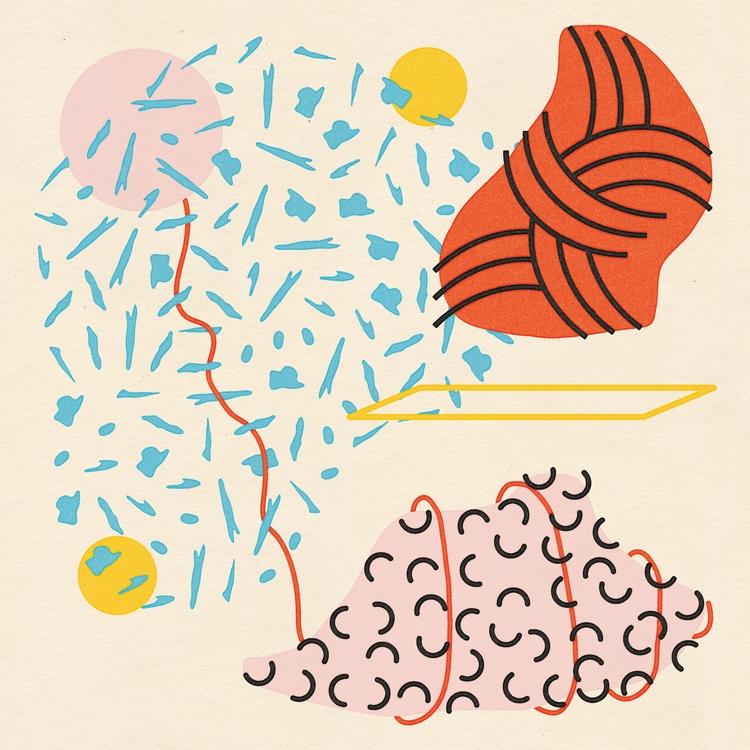 Abstraction Experiment  - poster - bryanbaltz | ello