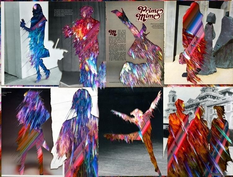 Void 28X21 collage - collageart - santasombra | ello