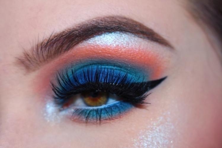 wispy blue  - makeup, motd, mua - briannacrow | ello