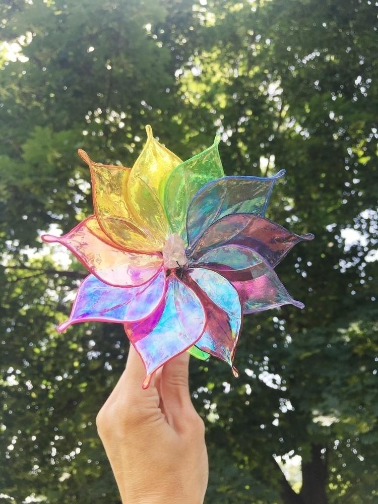 radiant day! rainbow crystal fl - faerieblessings | ello
