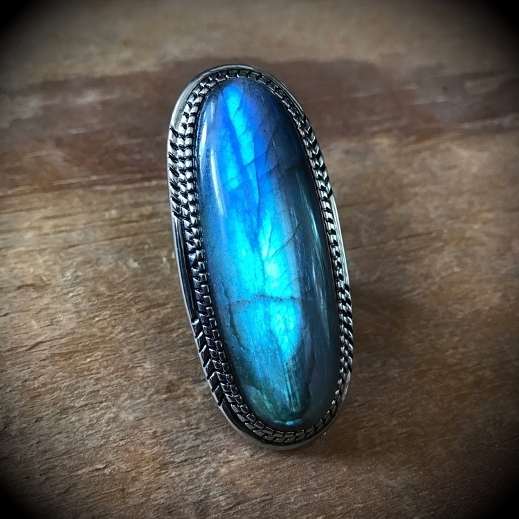 Pond Ring Labradorite released  - evil_pawn_jewelry | ello