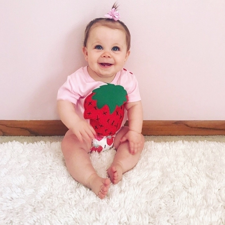 || cute Emmy Strawberry Tee bum - jlaladesigns | ello