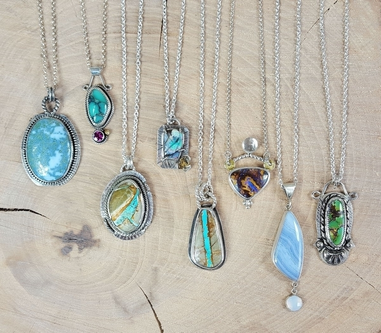 give necklaces - Opal, turquoise - kjohnsonjewelry | ello
