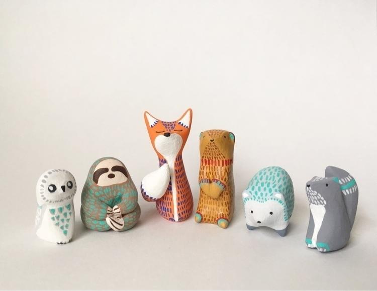 Posse, cadre critters handmade  - undergrowthgoods | ello