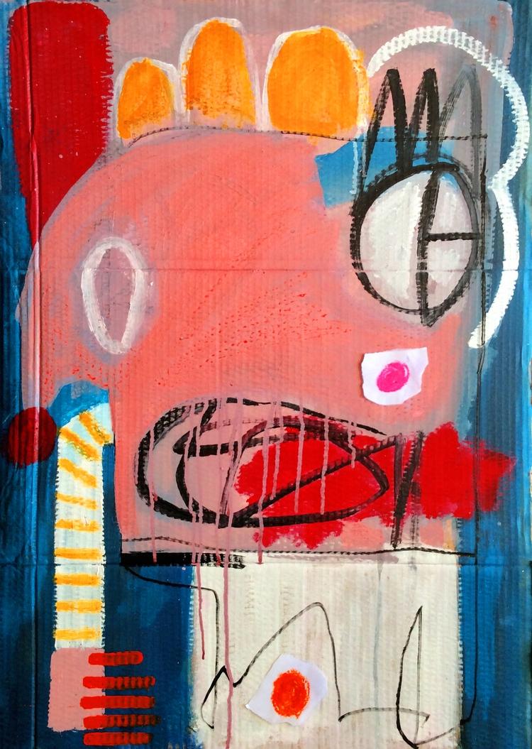 Waking Acrylic cardboard - dmalta10 | ello