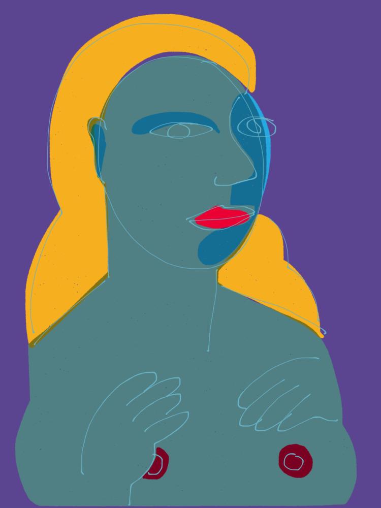 Blue Sketch - dickiesaul | ello