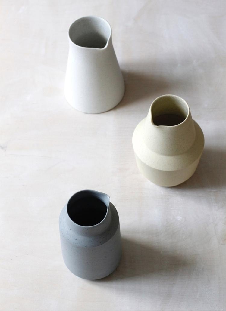 3 carafes 12 London Craft Week - elliottceramics | ello