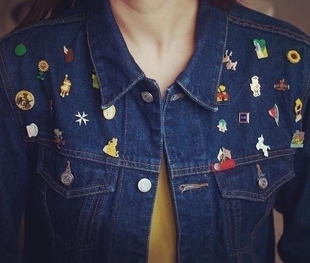 Pins save jacket, Funny story t - gudos | ello