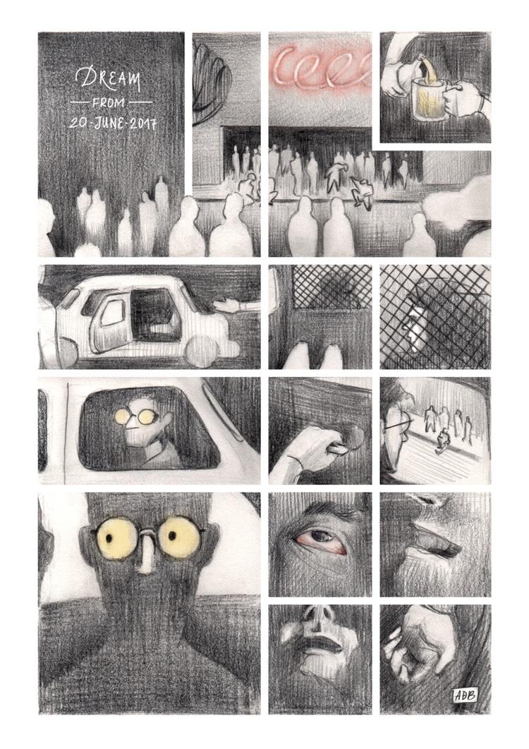 Nocturne nº 12 - illustration, comics - tereau | ello