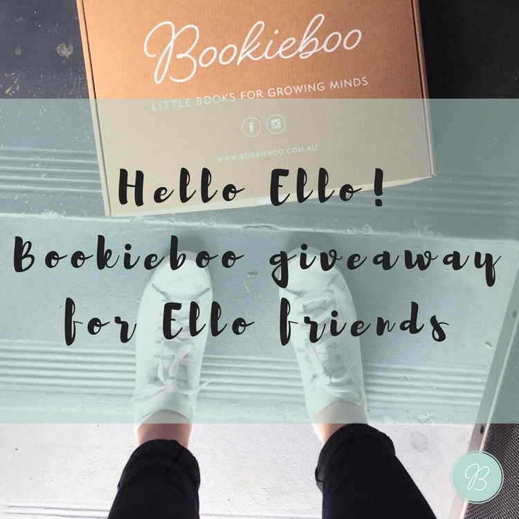 CONTEST CLOSED BOOKIEBOO GIVEAW - bookieboobox | ello