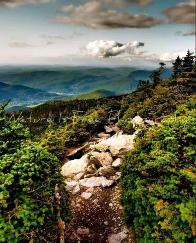 Climb mountains good tidings. p - natureisfree   ello