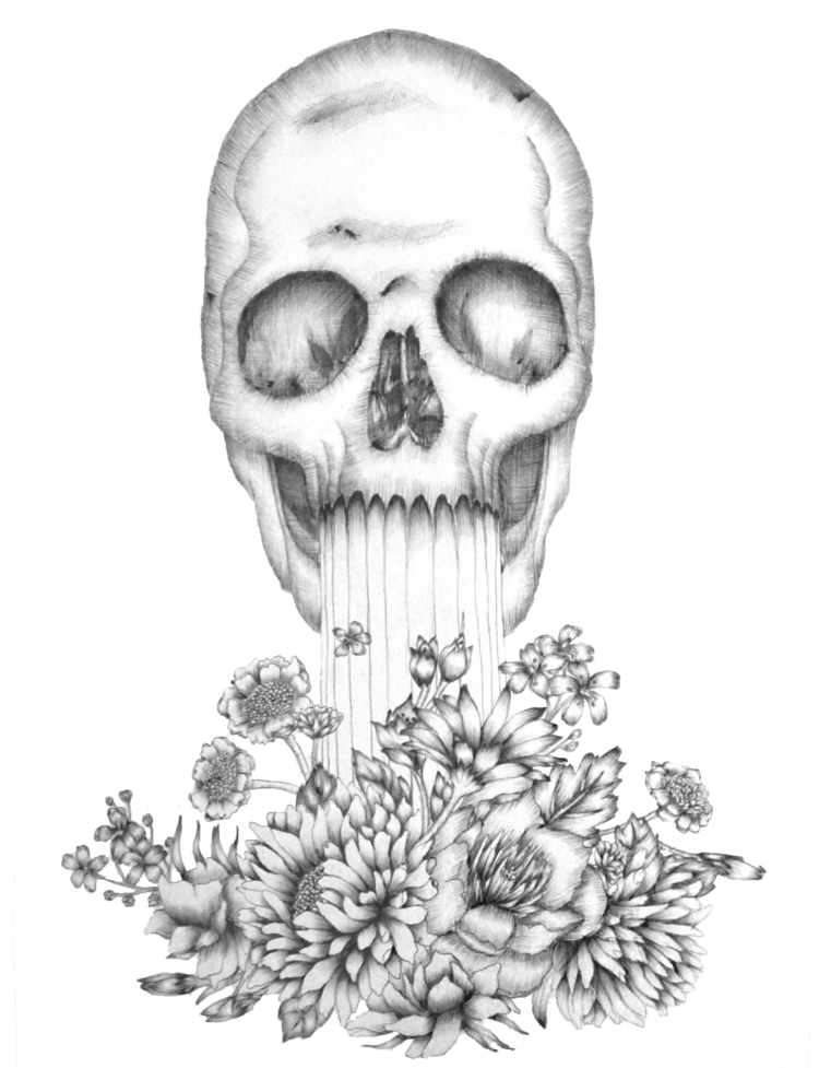 Birth Death. Ballpoint Pen. 201 - ecmazurart | ello