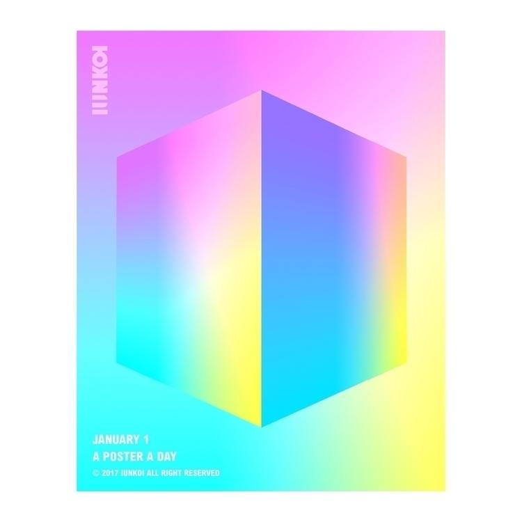 follow 365 poster project Insta - iunkoi | ello