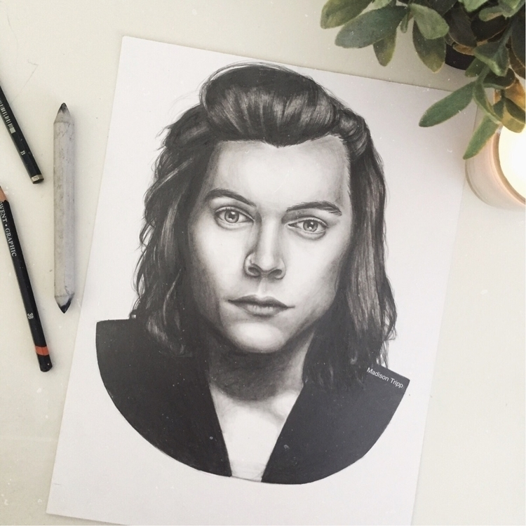 Portrait Harry Styles - portrait - madisontripp | ello