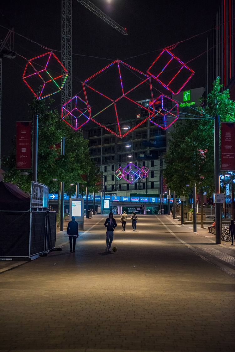 Wembley Park Boulevard - Nikon, D800E - toshmarshall | ello