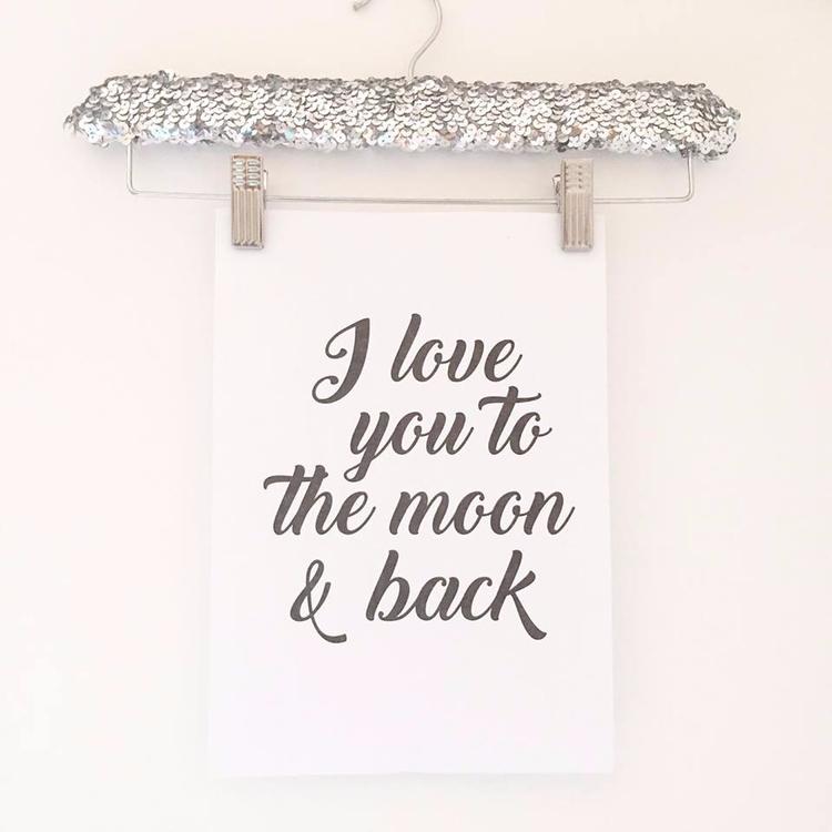 Sequin Print Hangers online - sequinhanger - sweetyellowdecor | ello