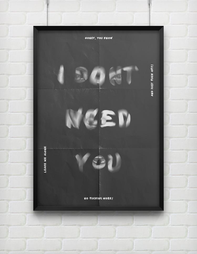 dont - poster, design, motivation - beliy | ello