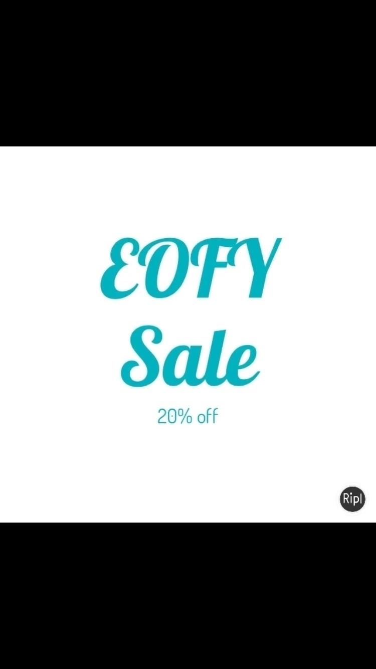 Ends tomorrow! code EOFY17!!!  - blueberrybubs   ello