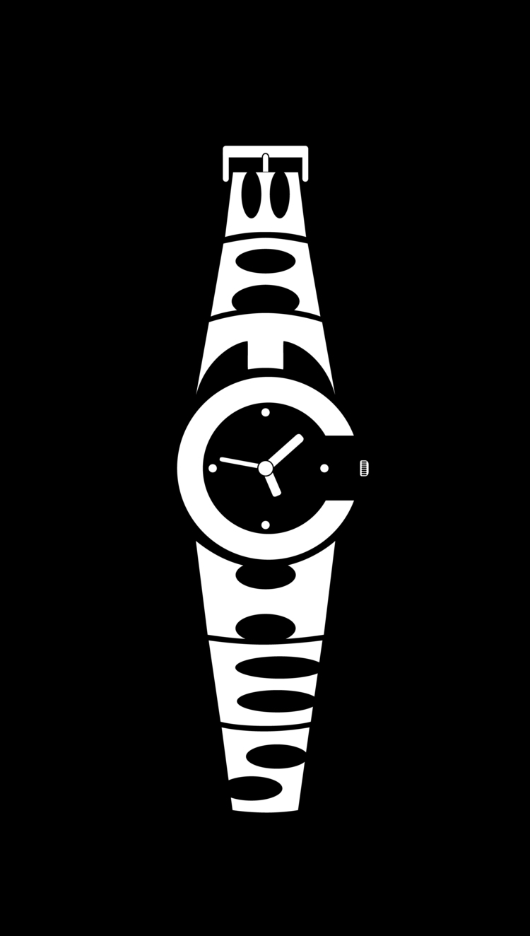 watches - watch, icon, typography - fahadpgd | ello