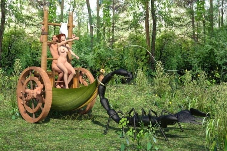 nude, forest, girl, slave, crazy - franklange | ello