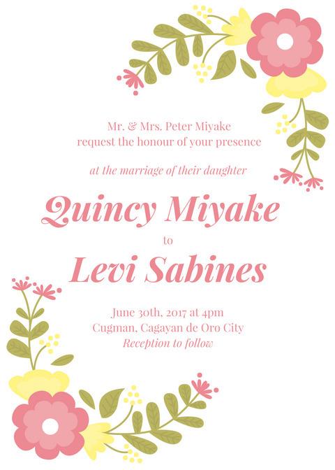 Canvatime, Samples, WeddingInvitation - quincymiyake   ello