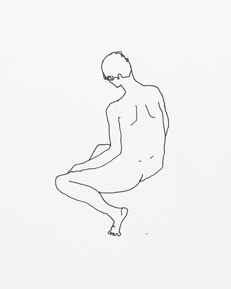 introvert - art, illustration, portrait - juliaromana | ello