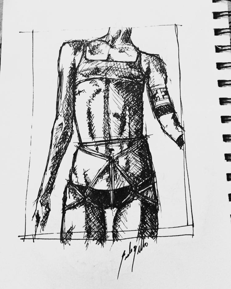 elloillustration, penandink, sketchbook - emiledidit | ello