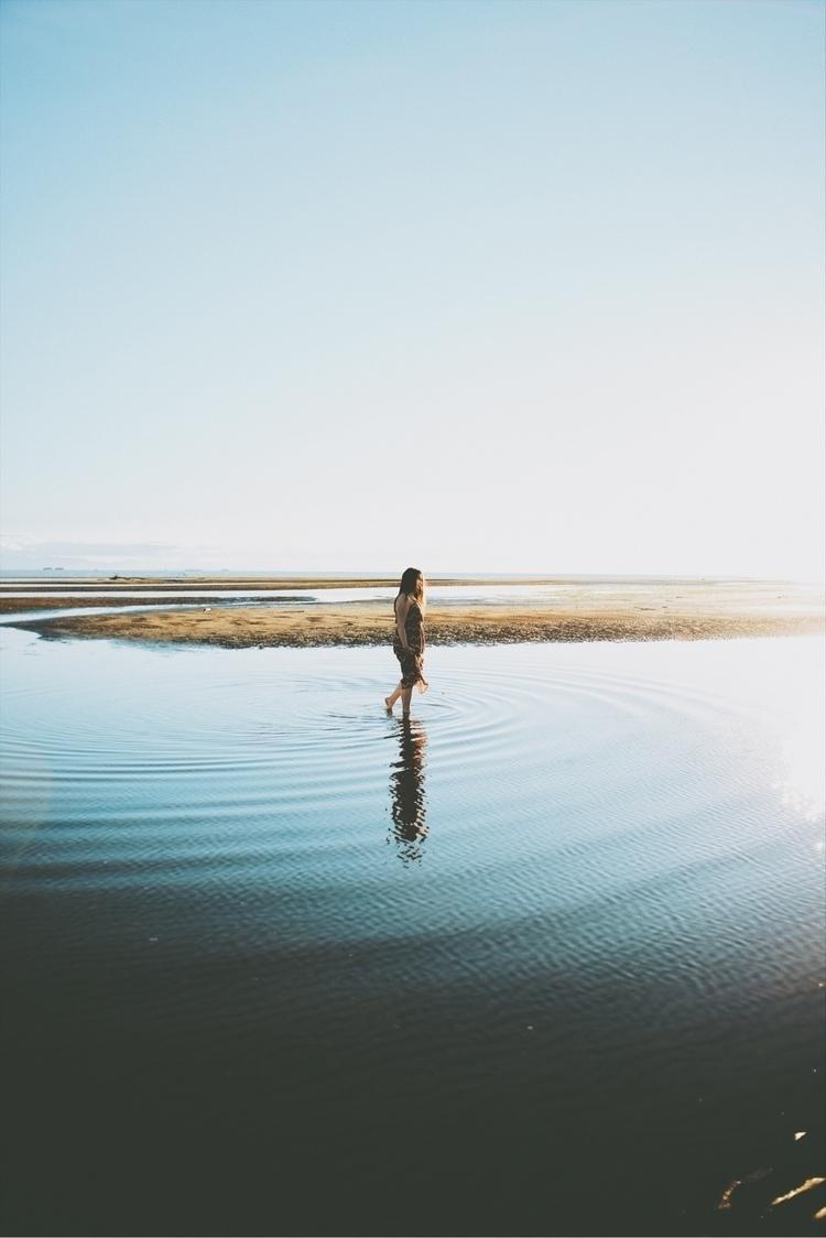 Walking tides. Iona Beach, BC.  - davidarias | ello