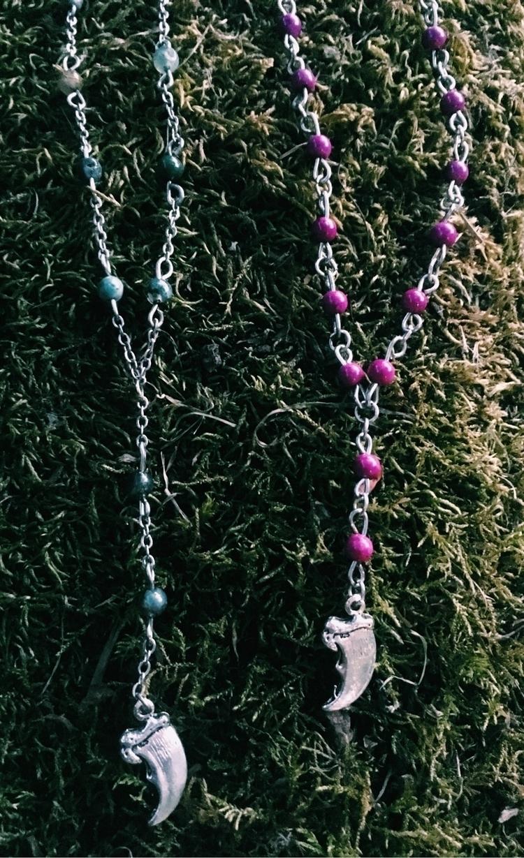 Mini Jasper violet Riverstone c - gypsyxjewels | ello