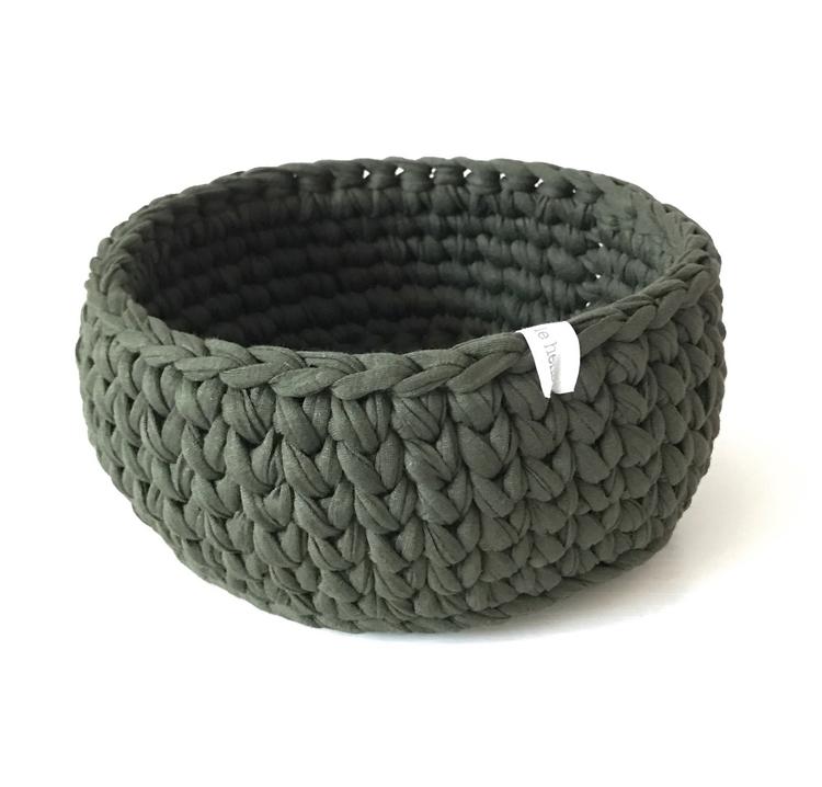 Medium sized Olive Green croche - 3littlehens | ello