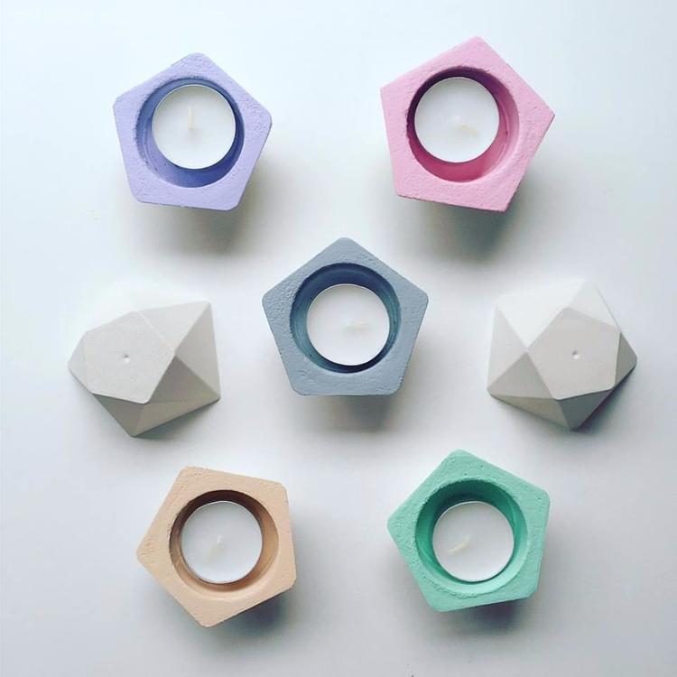original concrete pentagon tea  - sweetyellowdecor | ello