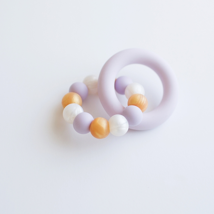 Otis Teething Ring BPA free sil - tinybae | ello