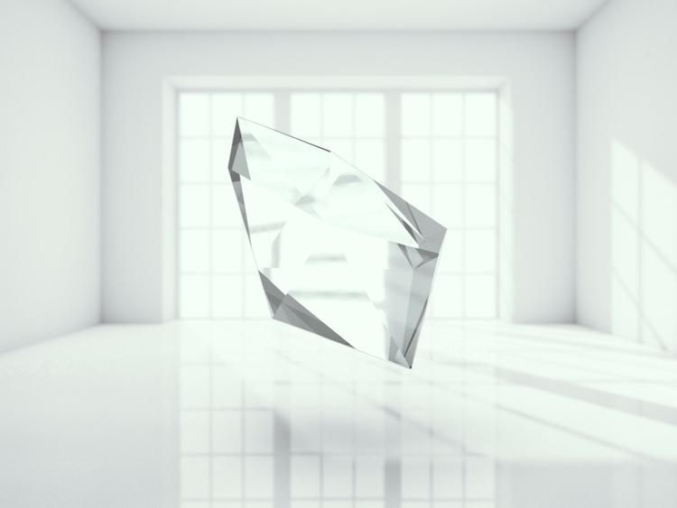 glaskristall - 3d - momosby   ello
