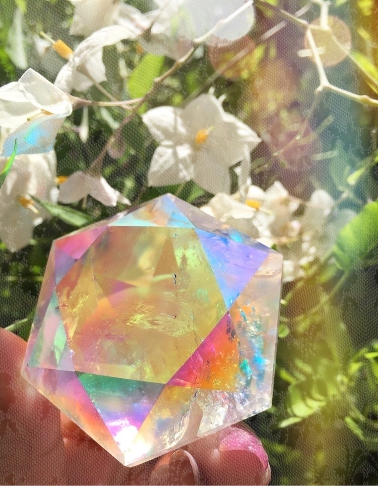 Angel Aura Quartz diamonds - angelaura - prismsouls | ello