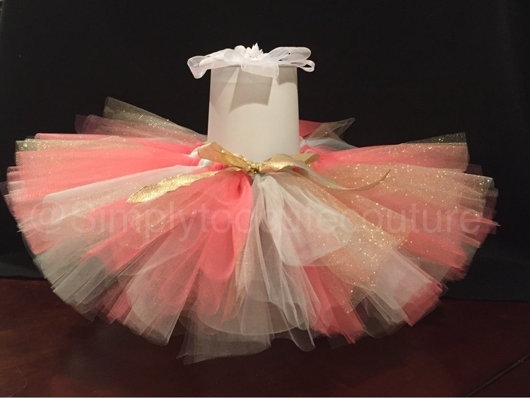 Coral Mint tutu:scream:. pretty - simplytoocutecouture | ello