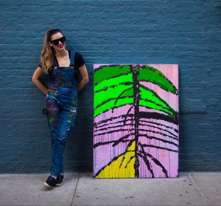 rebeccakane, tropical, abstractart - rkane | ello