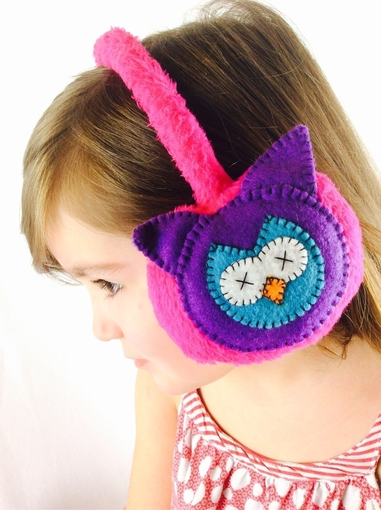 :sparkles:Kawaii ear warmers st - spacecakedesign | ello