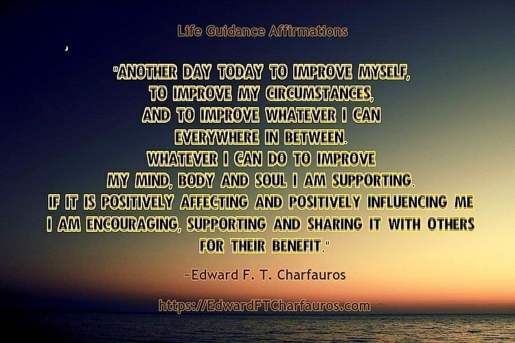 continue positively affecting d - edwardcharfauros | ello