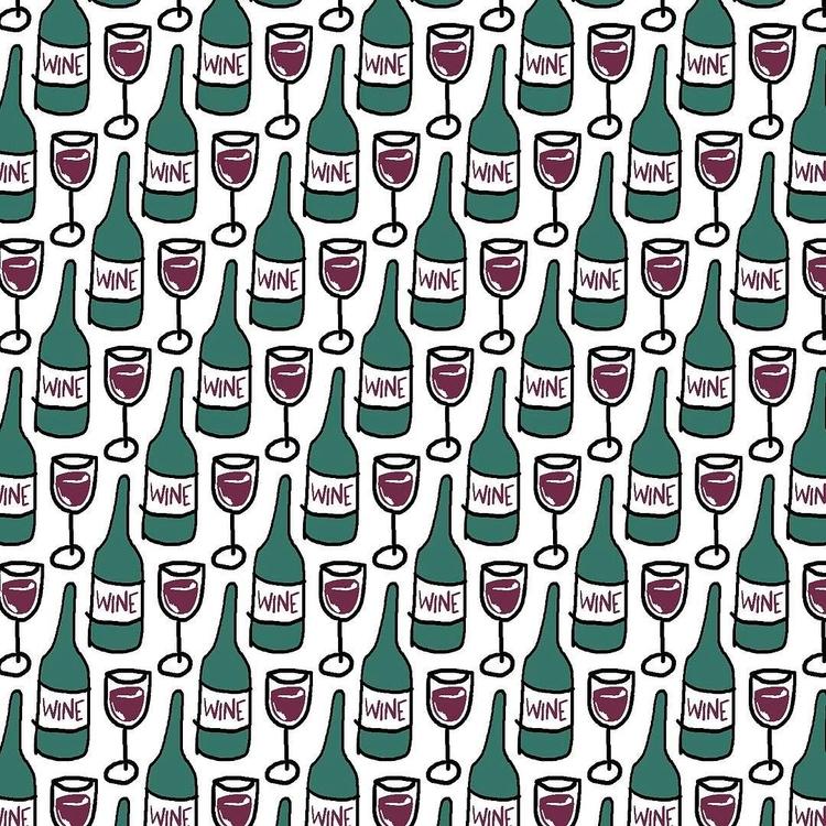 pattern, wine - reneeleigh | ello