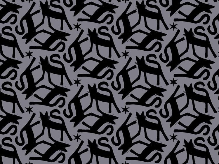 cat, pattern - reneeleigh | ello