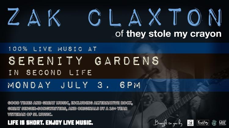 TONIGHT (Mon July 3), 6PM SLT:  - zakclaxton | ello