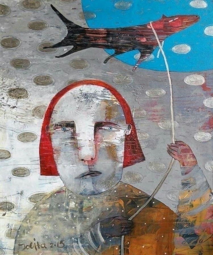 acclose clouds rylic canvas 50x - jolitacc | ello