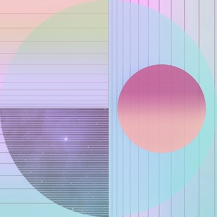 Geometric Space [  - design, photoshop - valenvq | ello