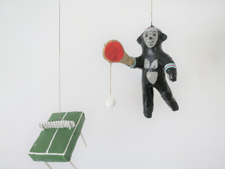 king kong plays ping pong! pape - jikits | ello