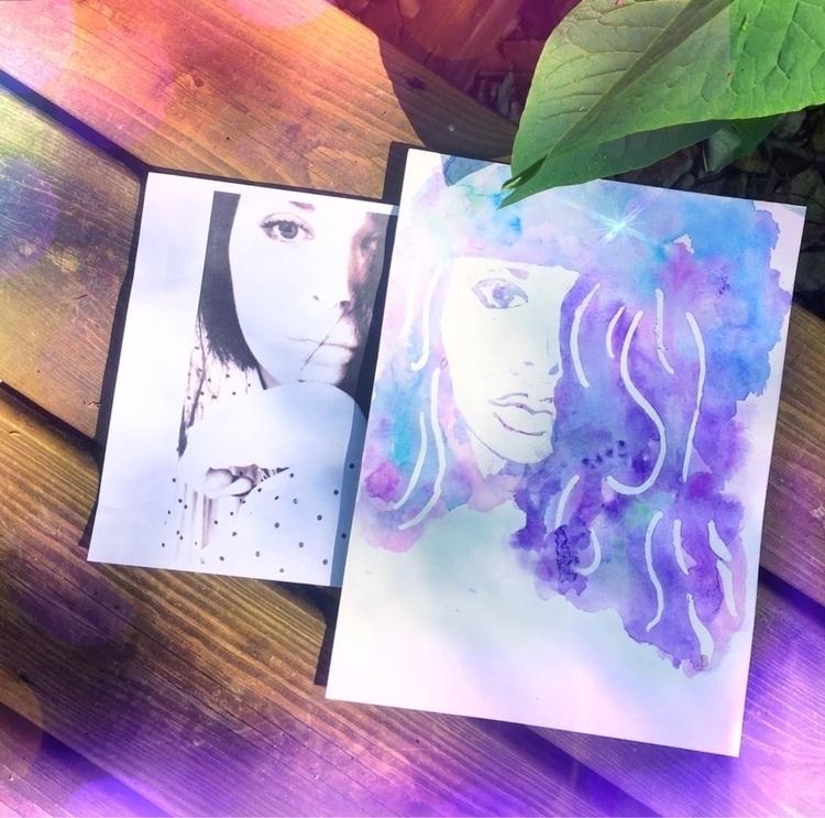 Custom watercolor portraits $11 - thatgirlstayce   ello