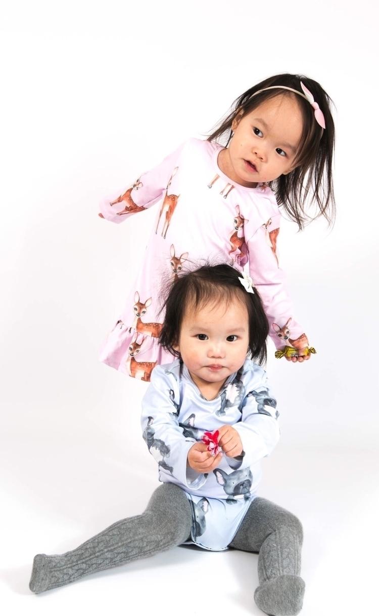 prints store pink deer lavender - cheekychickadeestore | ello