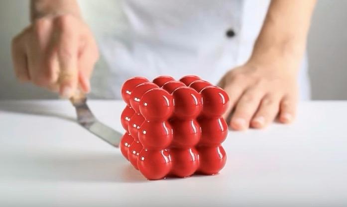 Geometric 3D-printed cake molds - bonniegrrl   ello