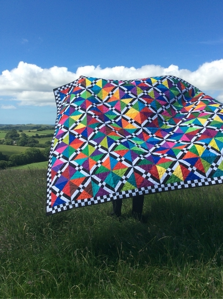 Chequered Lattice Quilt - patchwork - dorsetpatchworks | ello