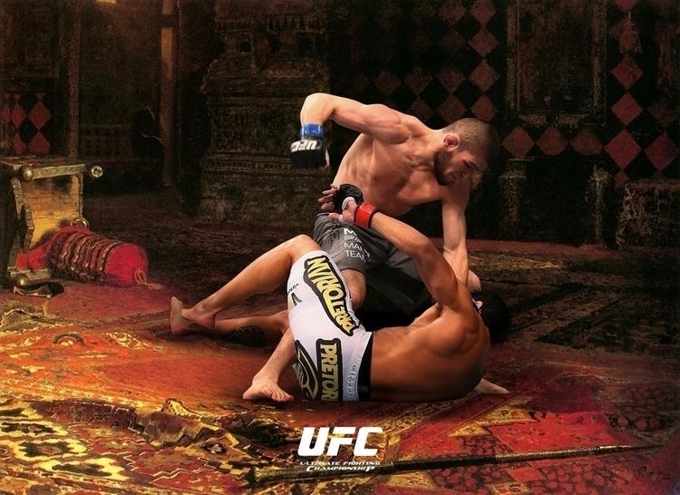 UFC Art Posters - art, ufc, poster - bkzcreative | ello